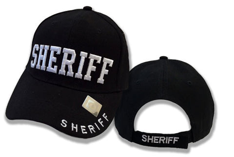 Sheriff 3D Puff Embroidery Hat
