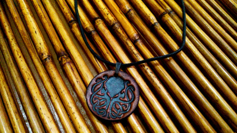 Cthulhu Leather Necklace