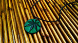 Marijuana Leaf Leather Necklace