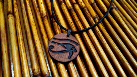 Eye Of Horus Leather Necklace