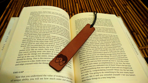 Harry Potter Leather Bookmark