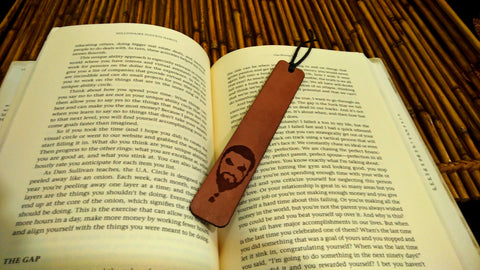 Game Of Thrones Leather Bookmark