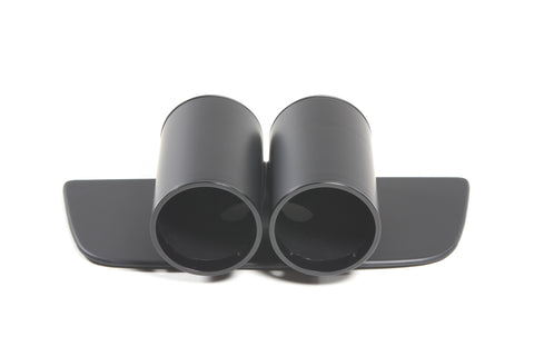 Premium Dashboard Gauge Pod for Camaro-Two Gauge Matte Black/Matte Black