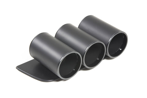 Premium Dashboard Gauge Pod for Camaro-Three Gauge Matte Black/Matte Black