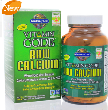 Vitamin Code RAW Calcium 60c