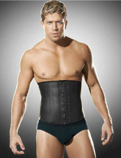 Men's Steel Boned Work Out Waist Trainer - waistshaper