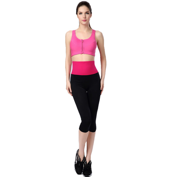 Black Athletic Gym Workout Yoga Pants - waistshaper
