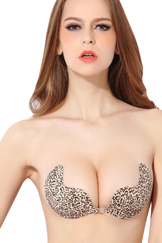 Leopard Push Up Bra - waistshaper
