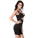 Kai Black Lace Hem Body Shapewear