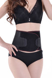 Black Slimming Body Shaper Control Girdle Corset New - waistshaper