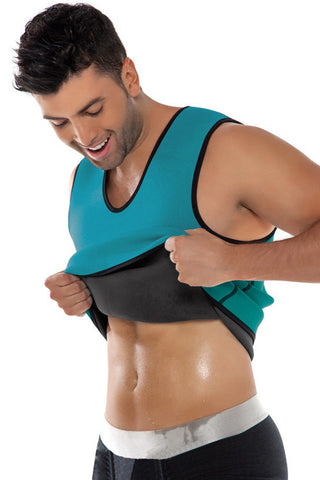 Men Neoprene Waist Trainer Vest