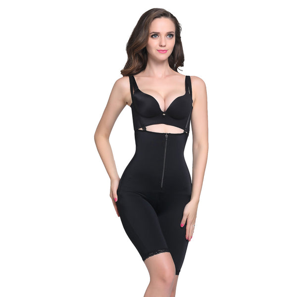 Isabella Clip and Zip Full Body Shaper - waistshaper