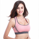 One Piece Pink Sports Bra