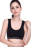 Black Nylon Sports Bra - waistshaper