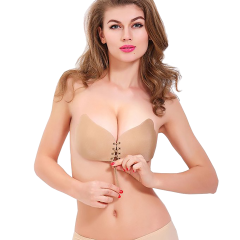 Nude Push Up Bra - waistshaper