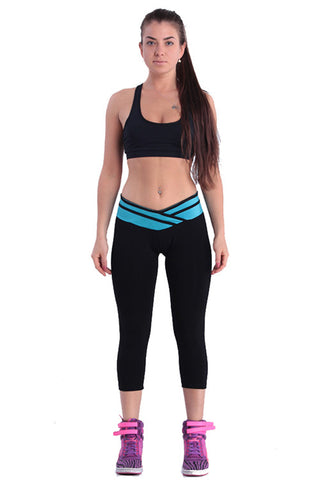 Women's Black Sport Pants - waistshaper