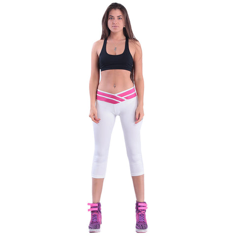 White Yoga Sports Pants