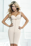 Camila Tummy Control Slim Zipper Body Shaper - waistshaper