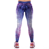 Good Elasticity Galaxy Sky Printing Wholesale Yoga Pants - waistshaper