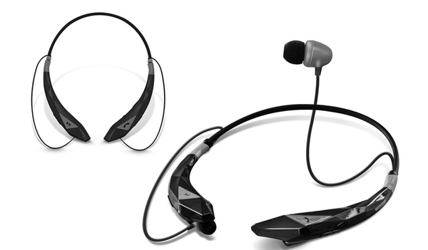 AMPLIFY WIRELESS STEREO HEADSET BLACK - waistshaper