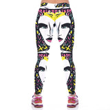 Sexy Blondie Print Funky Leggings Women Yoga Pants