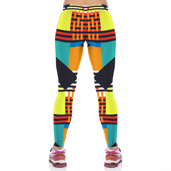 Special Fitness Printed YogaLeggings For Women