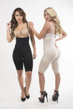 Valentina Side Zipper Lace Hem Pants Body Shaper Corset - waistshaper