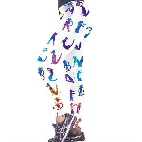 Cute Animal Gym Yoga Leggings - waistshaper
