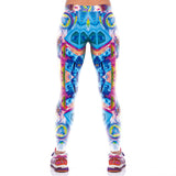3D Digital Print Sport Running Yoga Leggings - waistshaper