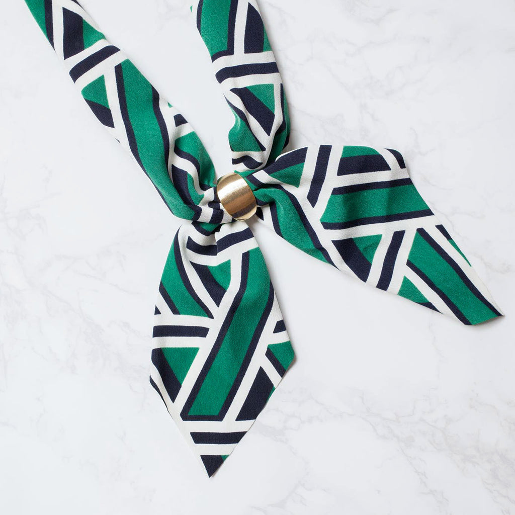 Pattern Scarf Necklaces / NL8093