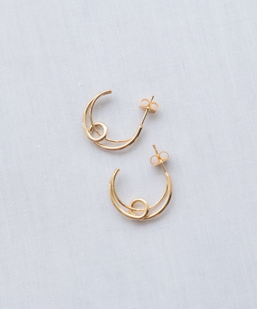 Love to the moon, Earrings/ ER8250