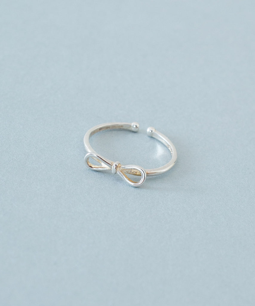 Ribbon Silver ring / RN8029