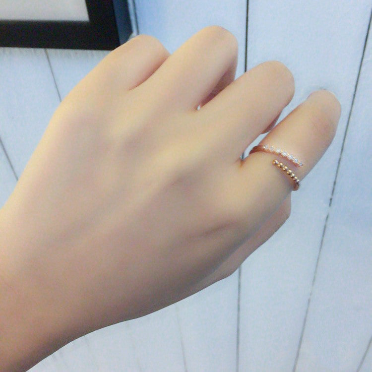 Dotted line Wrap Ring/ RN8025