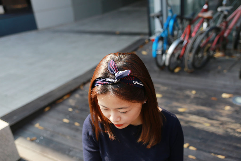 Wire Scarf or hairband - HA8046