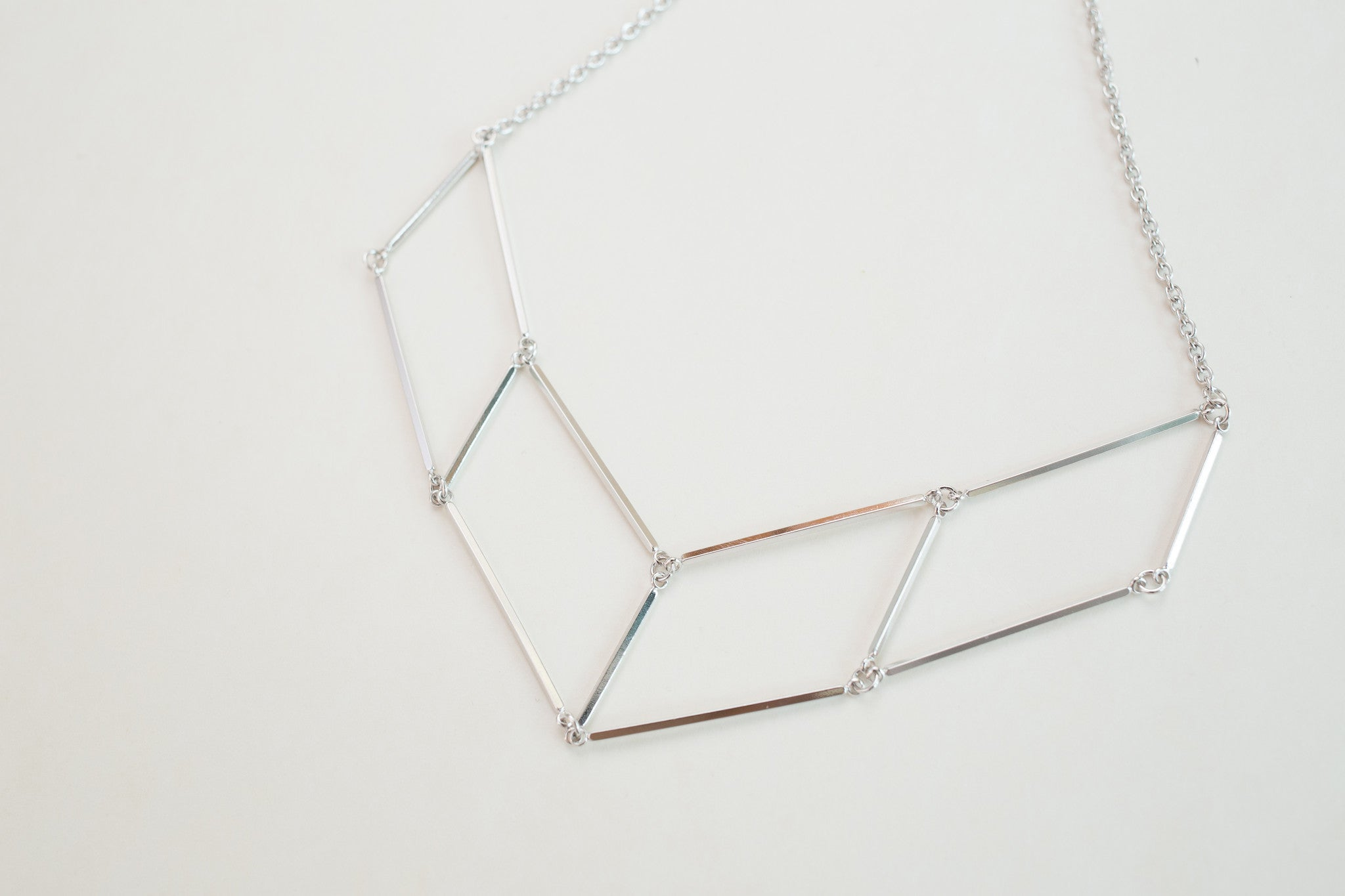 Silver Plate Necklace / NL8059