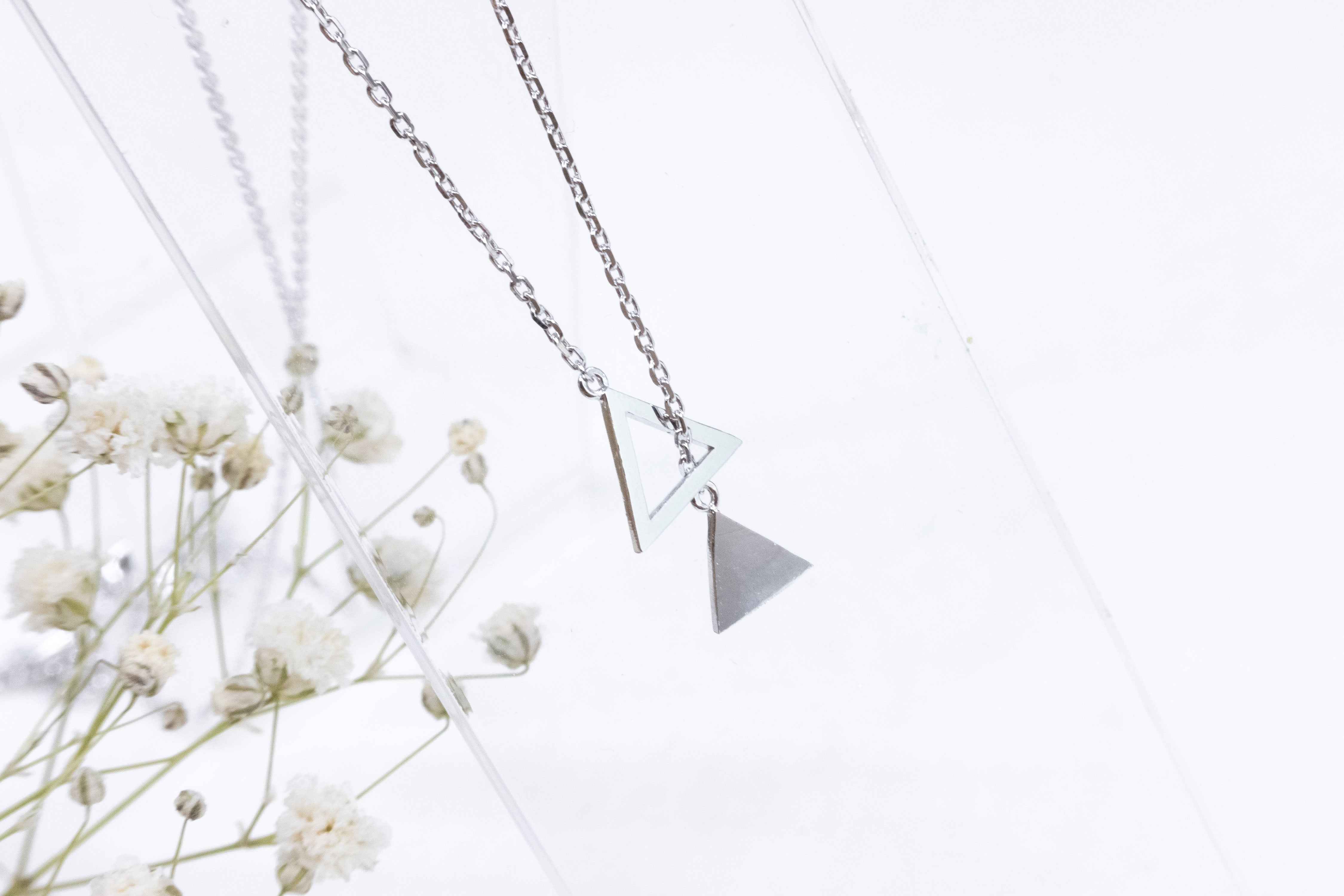 Tri-angle, Necklace / NL8112