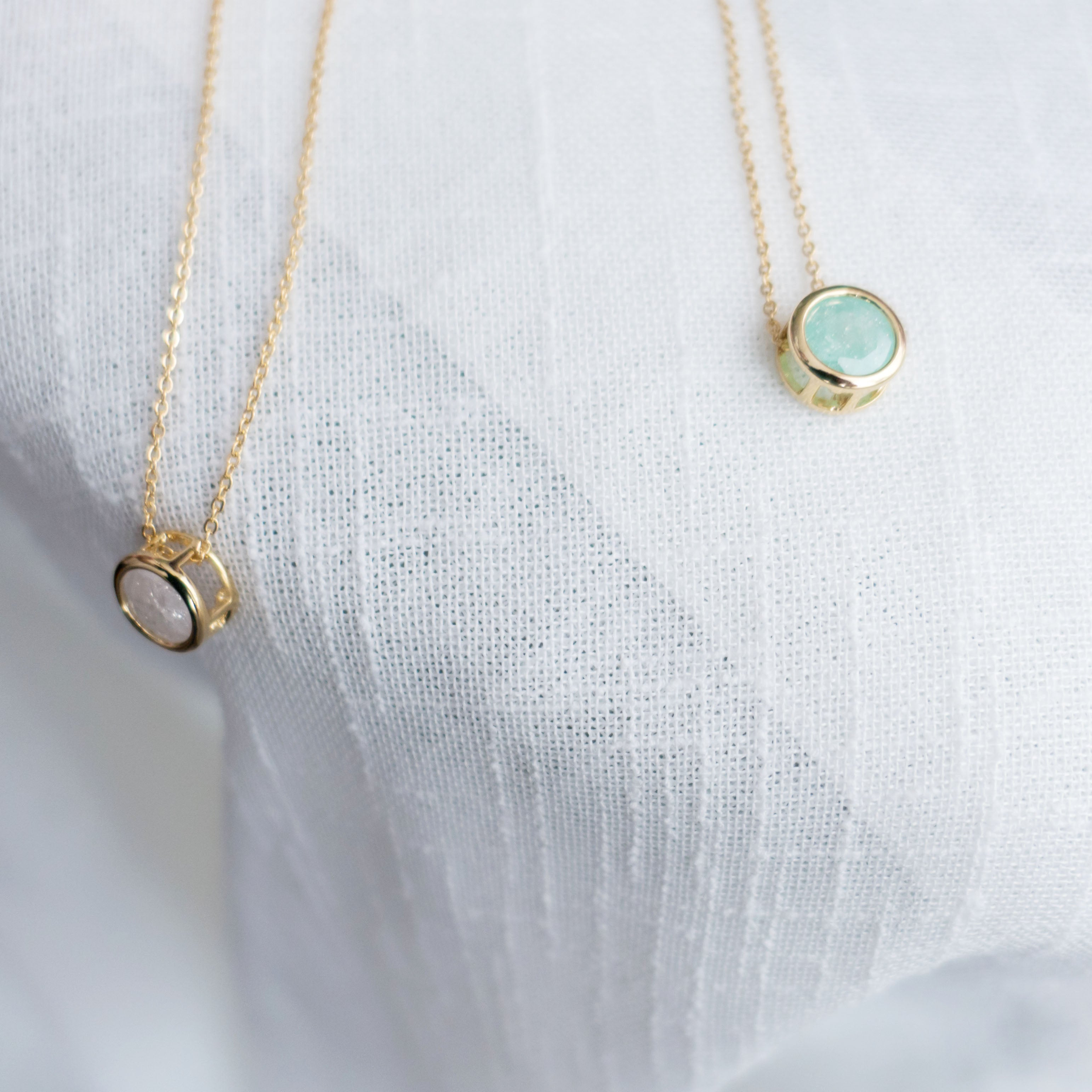 Rolling GemStone, Necklace/ NL8124