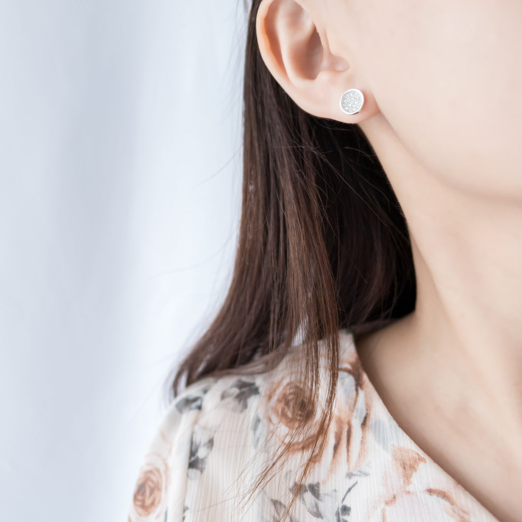 Shiny Plate, Earrings/ ER8235