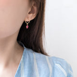 Moon Heart, Earrings/ ER8264