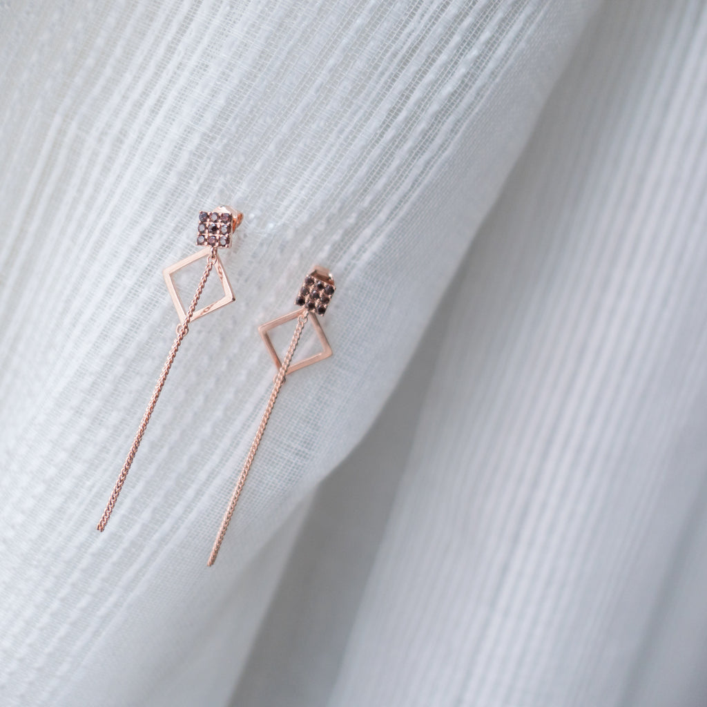 Loop Square, Earrings/ ER8257