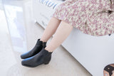 SoftWalk, Leather Short Boots/ SH8071