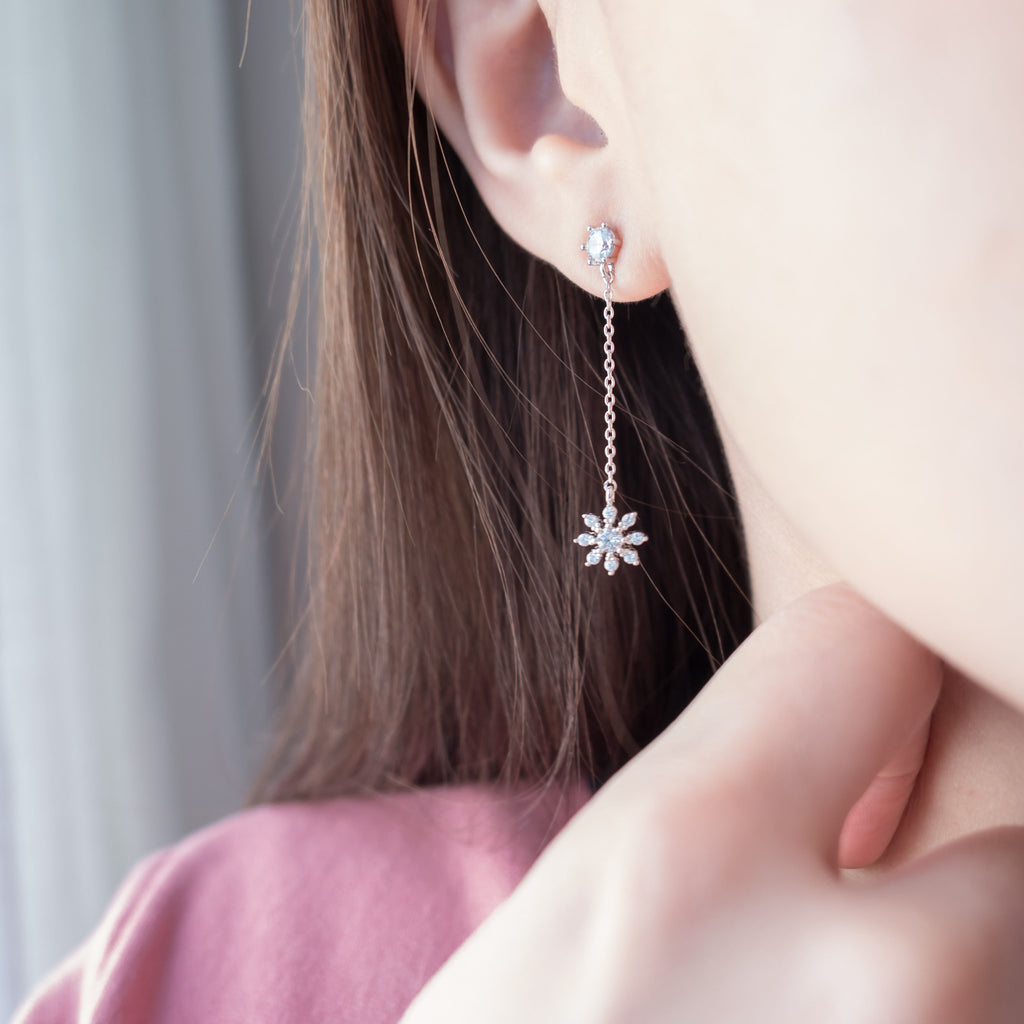 Snowflake Floral, Earrings/ ER8288