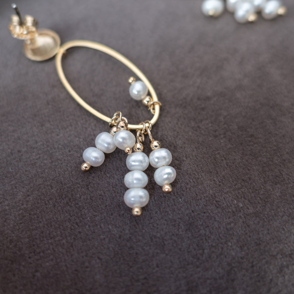 Golden Pearl, Earrings/ ER8278