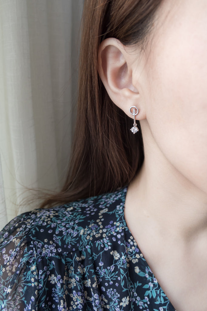 Bell Crystal, Earrings/ ER8293