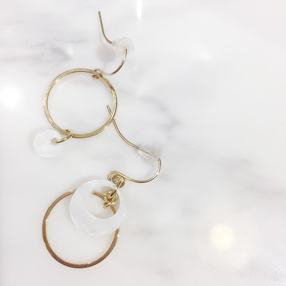 Moon Loop, Earrings/ ER8211