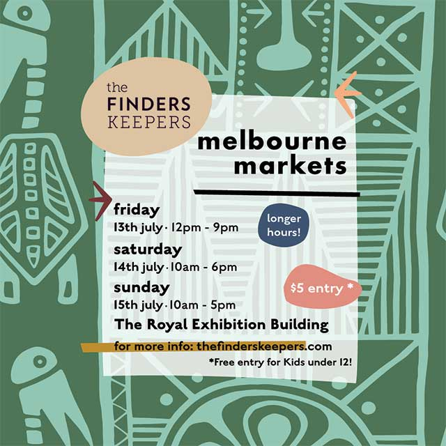 Finders Keepers AW18 Market Melbourne This Weekend!