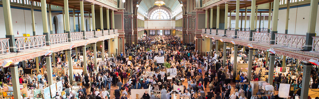 We will be at Melbourne Finders Keepers Market - October 14th-16th