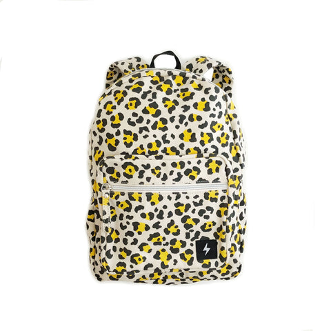 leopard print backpack by kapow kids