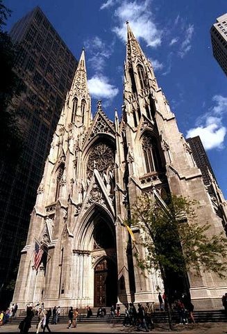 Saint Patrick Cathedral in NYC