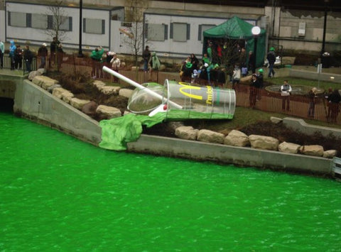 Chicago River - Saint Patrick's Day